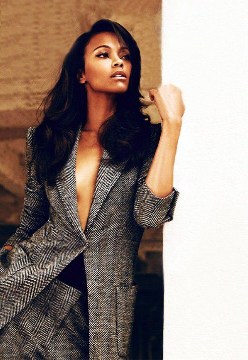 Zoe Saldana In 'Harper's Bazaar UK' (Discusses Her Style & On Screen Sizzle With Bradley Cooper!) | StyleBlazer