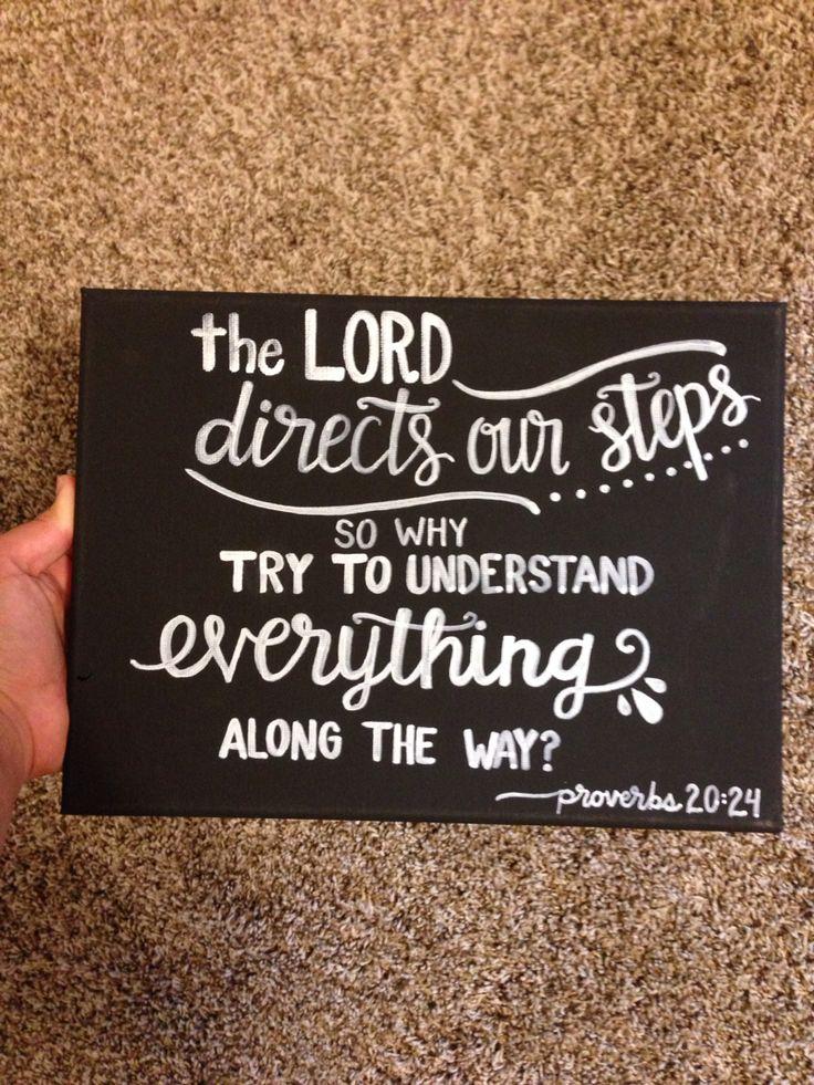 Proverbs 20:24 ❤️
