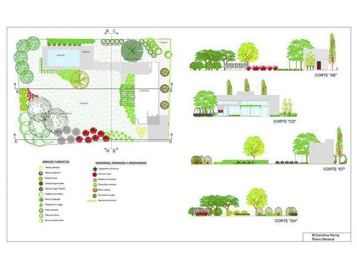 mejores 9 imágenes de diseños en autocad en pinterest   paisajismo