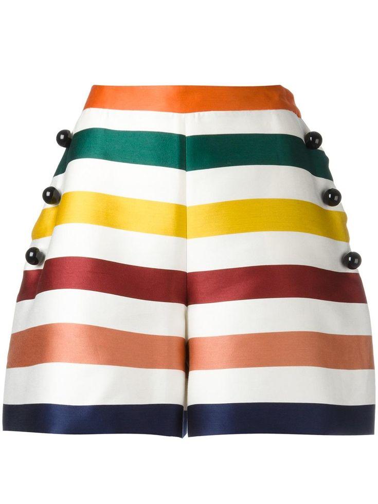 Carolina Herrera полосатые шорты