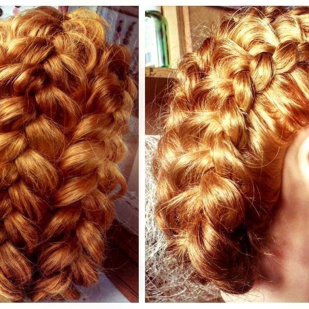 Французские косы=) #frenchbraids #braids #haare #hair #косы #парикмахерirochkalex