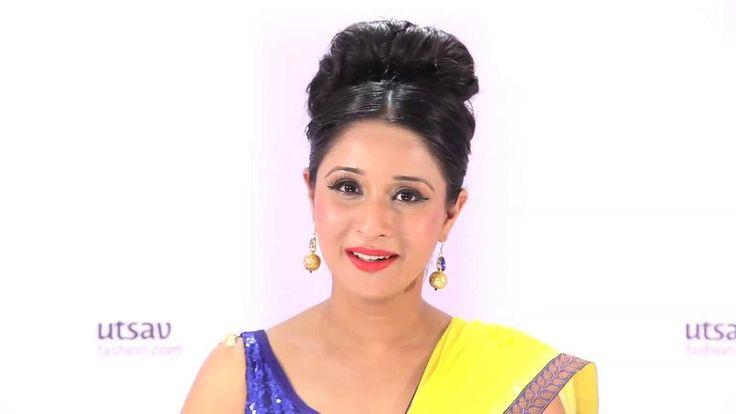 How to wear Mumtaz Style Saree
