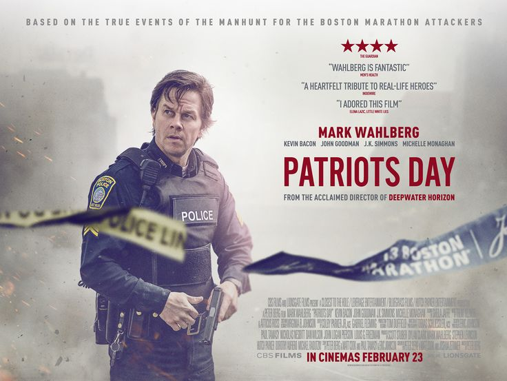 Watch the UK trailer for Peter Berg's Patriots Day | Live for Films