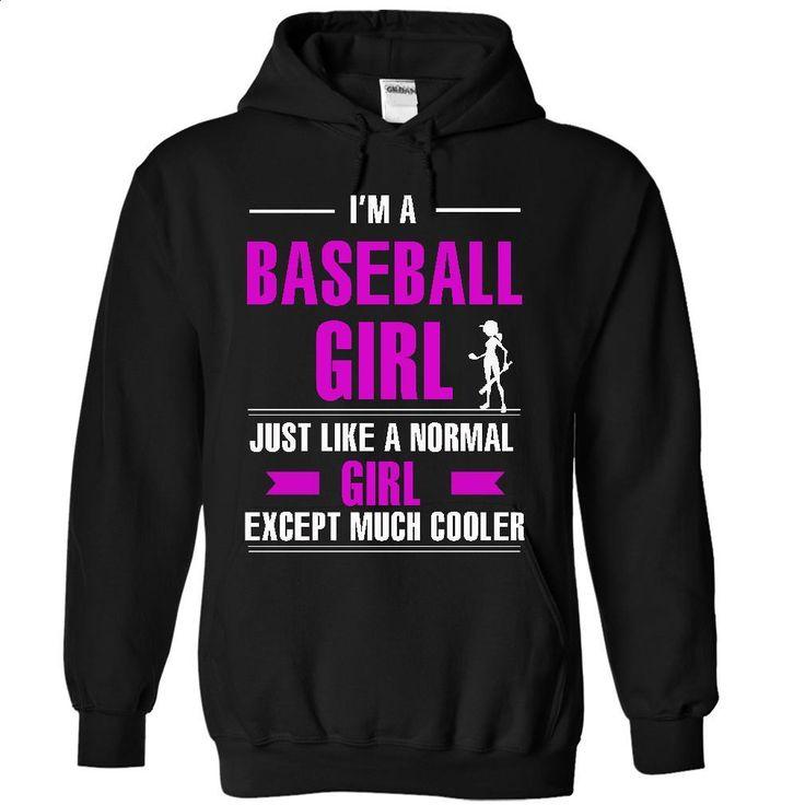 Cool baseball girl T Shirt, Hoodie, Sweatshirts - t shirt maker #tee #hoodie