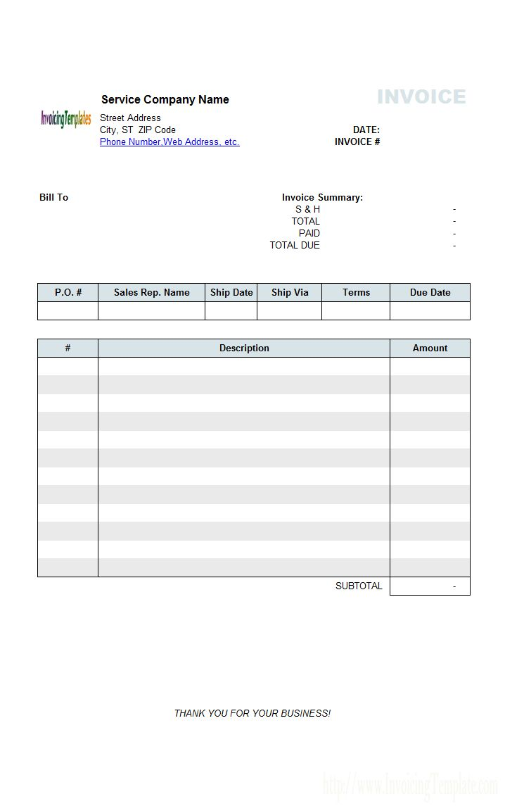 3 Column Invoice Templates Inside Microsoft Office Word Invoice Template Great Cretive Templates Microsoft Office Word Invoice Template Office Word