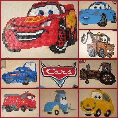 strijkkralen Cars
