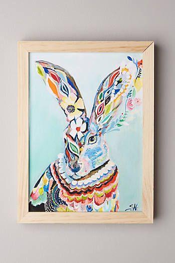 Mooreland Wall Art, Hare
