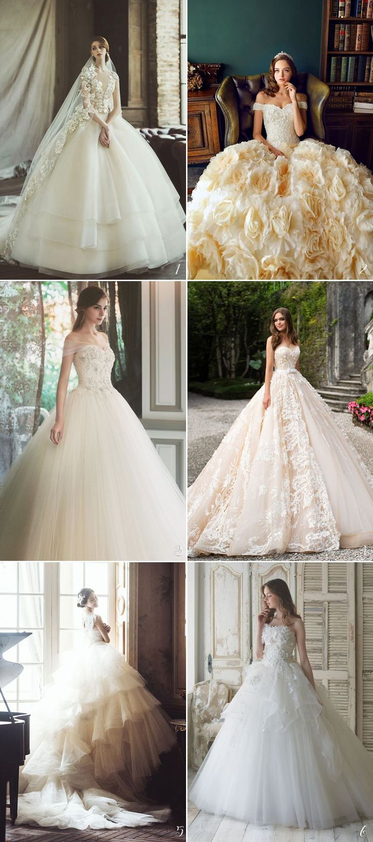 24 Princess-Worthy Bridal Ball Gowns You'll Love