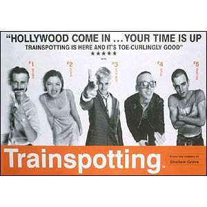 BBC News | In pictures: Knowledge of all fonts, Trainspotting (Helvetica)