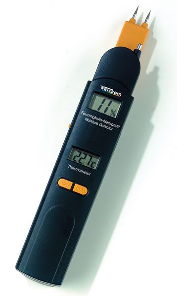 Feuchtigkeitsmesser 0-60% / Thermometer -10 bis +50° C - www.westfalia.de