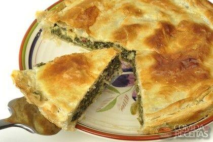 Receita de Torta de brócolis - Comida e Receitas