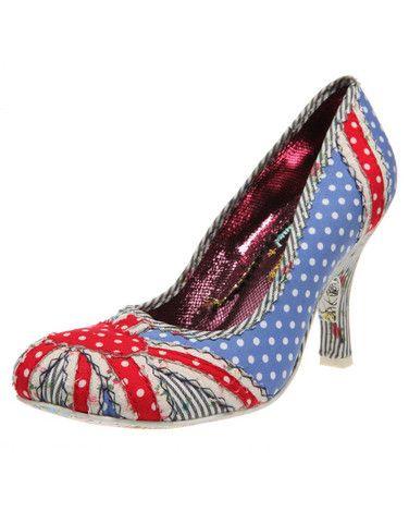 Patty Union Jack Shoe // These are amazing!!! <3 <3 <3