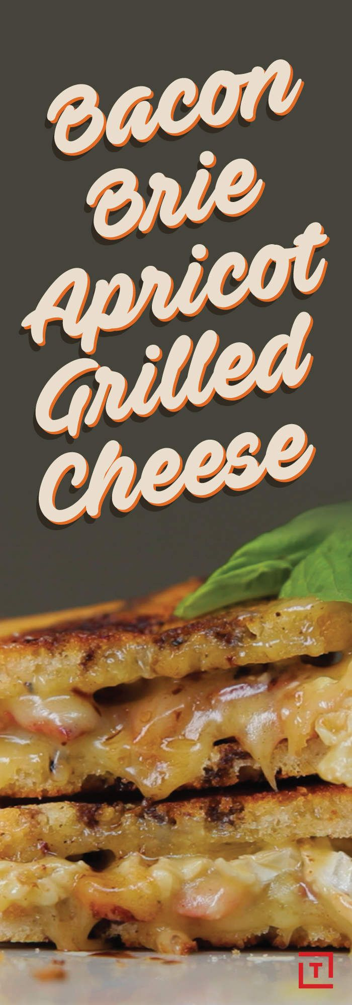 Ah, the grilled cheese sandwich. Revered by college students who are just slightly too good for microwavable ramen; lauded by mothers looking for a quick, easy dinner to feed their kids; the ultimate soulmate of tomato soup. We're all for the old-school grilled cheese, but we also appreciate a modern, classy change-up -- case in point, Food Steez's recipe for a bacon, Brie, and apricot redux.