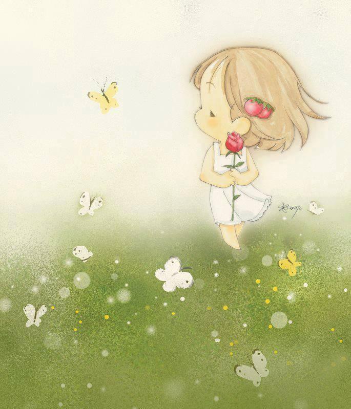 #Criança #Sweet illustration