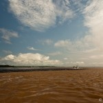 Encontro das águas do Rio Negro e Solimões - #Amazonas
