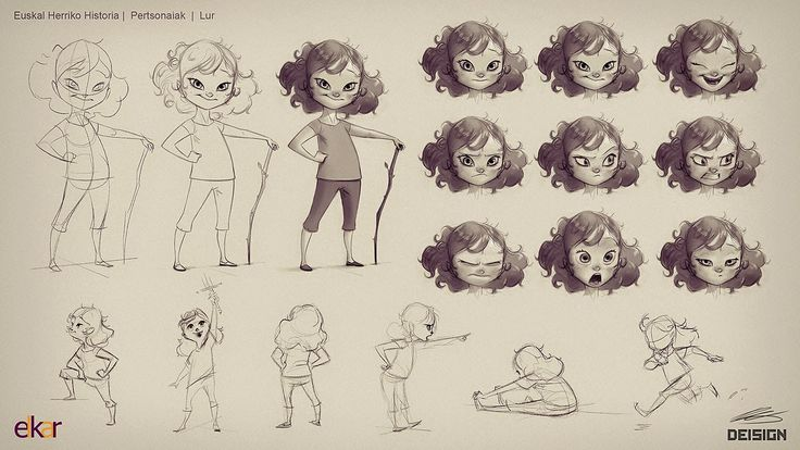 DEISIGN: Character Design Project Walkthrough | Client: ELKAR Publishing ★ Find more at http://www.pinterest.com/competing/