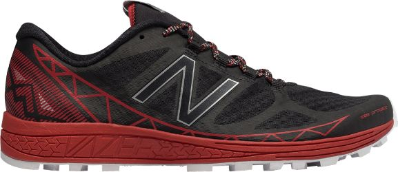 New Balance Men's Vazee Summit Trail-Running Shoes Black/Red 11.5 Wide