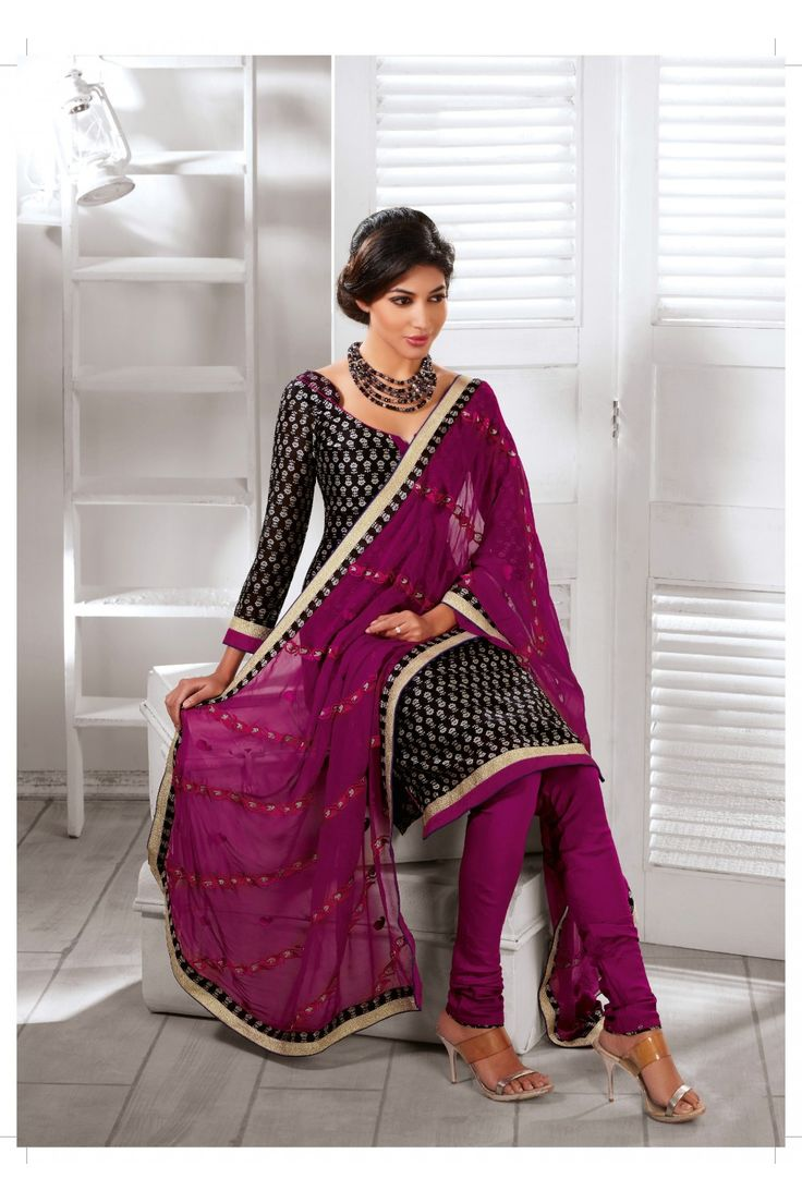 Tranquil Black Salwar Kameez :- Black colour suit with beautiful design and print comes with matching bottom and stylish dupatta with border.Different look for different ocassion. - See more at: http://www.daindiashop.com/suits/tranquil-black-salwar-kameez-dis-diff-36393#sthash.JPo54Rqs.dpuf