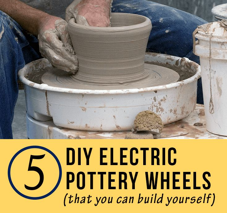 5 DIY Electric Pottery Wheels - ClayGeek