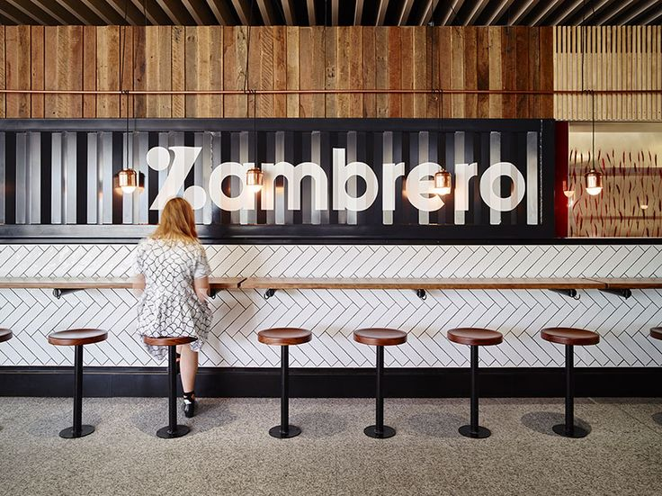 MMO interiors riverside food court interior brisbane australia designboom