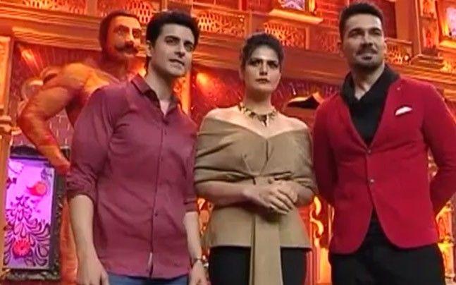 Comedy Dangal: Gautam Rode, Abhinav Shukla, Zareen Khan promote Aksar 2 on the program https://goo.gl/9L4P9N