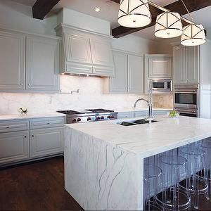 Pin By Brenna Senger On Id 135 Waterfall Islands Kitchen