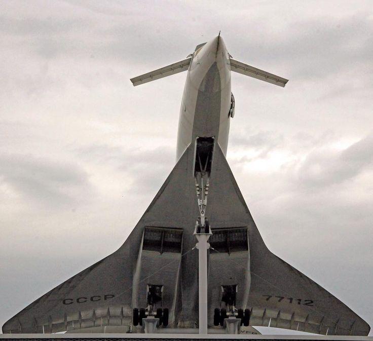 #Tupolev Tu-144 CCCP-77112 #technikmuseum #sinsheim #tu144 #avgeek #aviation #aircraft #airshow #concordski #supersonic #travel #germany #deutschland