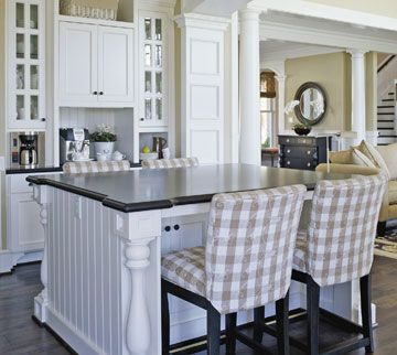 Kitchen Island With Seating On Both Sides | Seating On Both Sides
