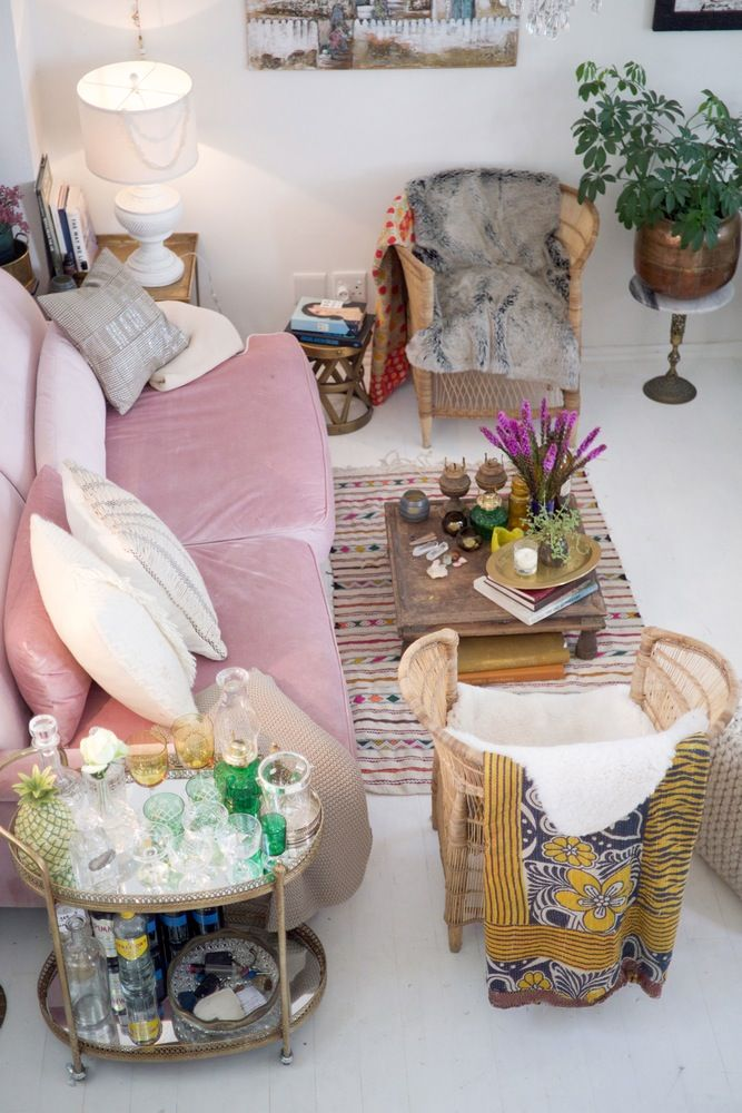 Colorful Eclectic Old School Glamour In Cape Town