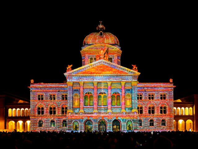 The Parliament Building, Bundesplatz, Switzerland  imageBROKER / SuperStock