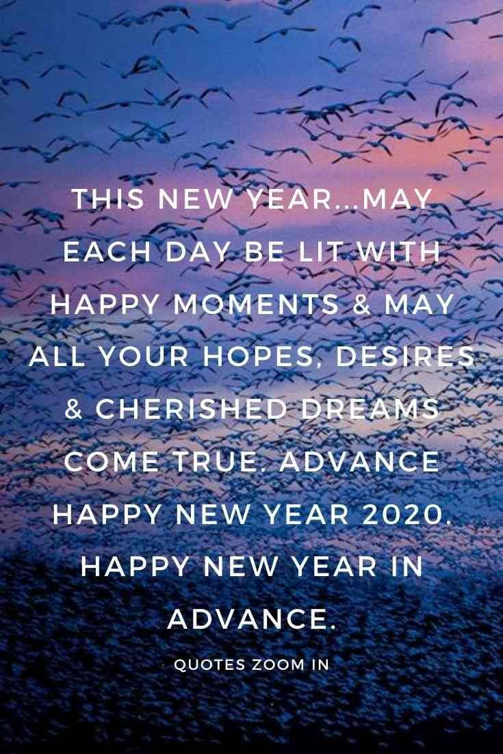 Advance New Year 2020 Greetings Cards Happy New Year Quotes Quotes About New Year New Year W Happy New Year Quotes Quotes About New Year New Year Wishes Quotes