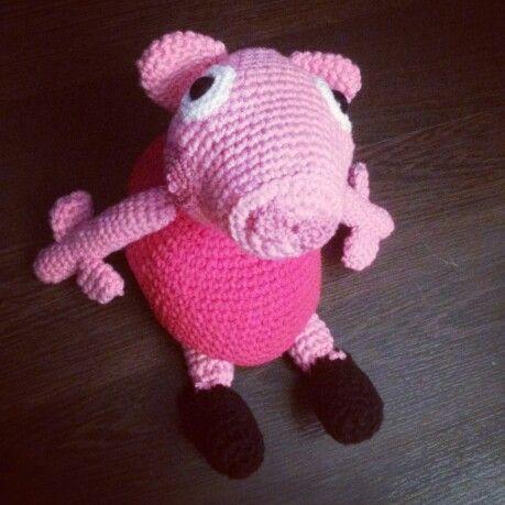Peppa Pig Amigurumi Taller De Mao : 7 best images about pepa on Pinterest A well, English ...