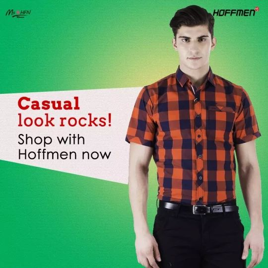 Do you want casual wear? Well, #Hoffmen is the place to get spoilt for #CasualFashion. Shop here: https://hoffmenonline.com/