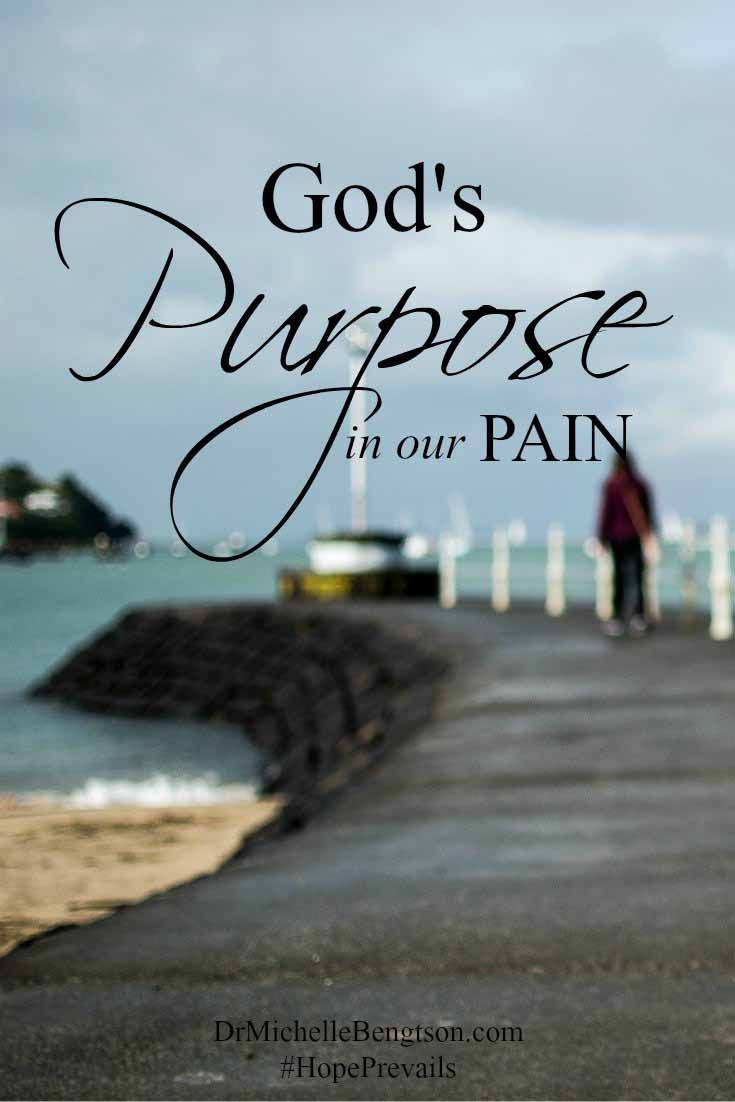 What if God's purpose for our pain and suffering is an opportunity for us to inspire and encourage others through our trials?