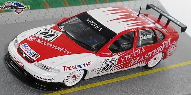 BTCC 1998 Vauxhall Vectra John Cleland 1/43