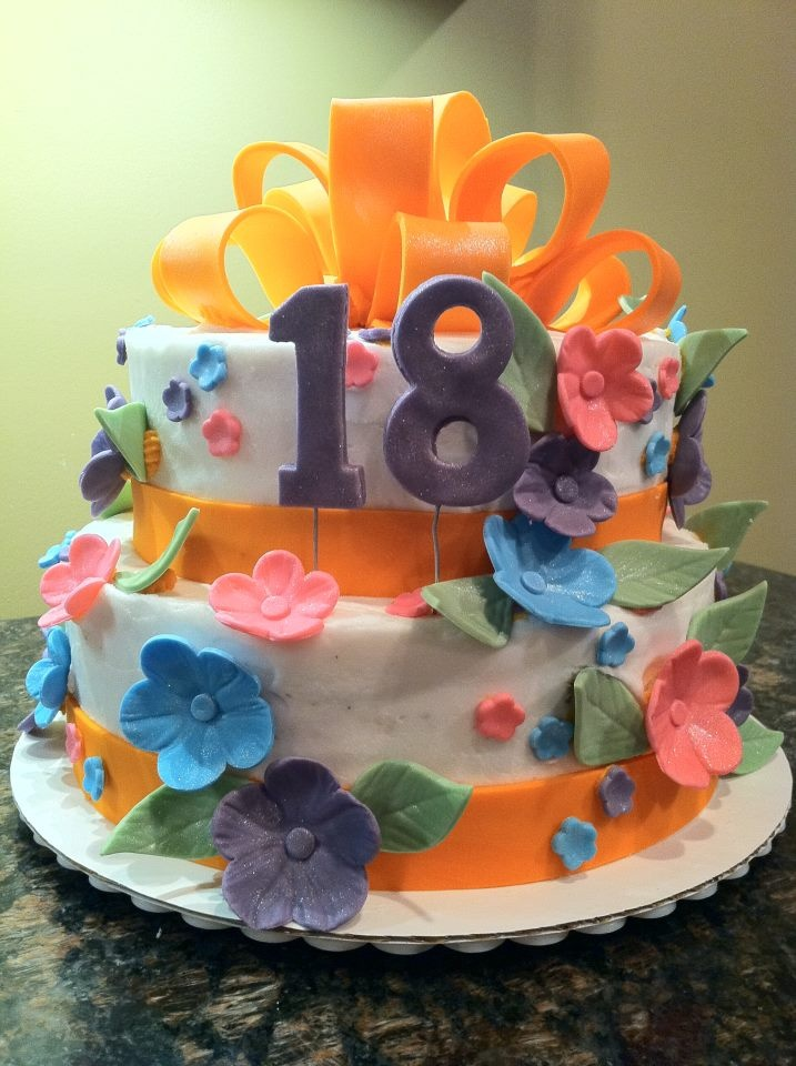 Edible Cake Decorations For 18th Birthday : 105 best 18th birthday cakes images on Pinterest 18 ...