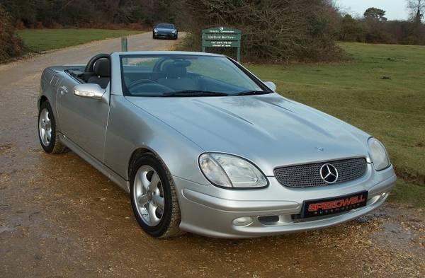2004 Mercedes SLK 320