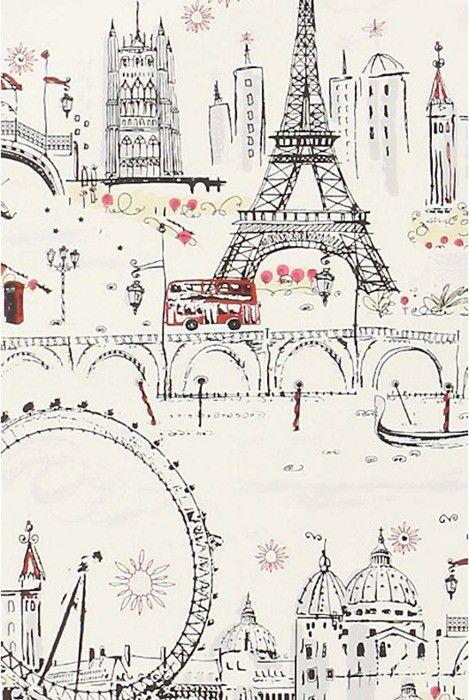 paris paris parisParis Wallpapers, C Beautiful Estes, Ideas, Little Girls Room, Illustration, Art, Paris Paris, Places, Travel