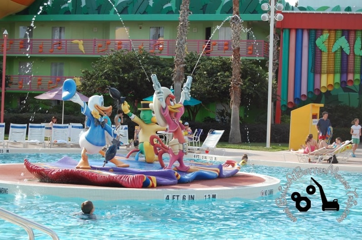 The Calypso Pool At Disney S All Star Music Resort A
