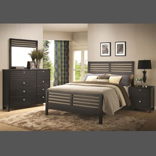 The Richmond 4 Pc Bedroom Set Is The Chameleon Of Bedroom Sets The Sleek Geometric