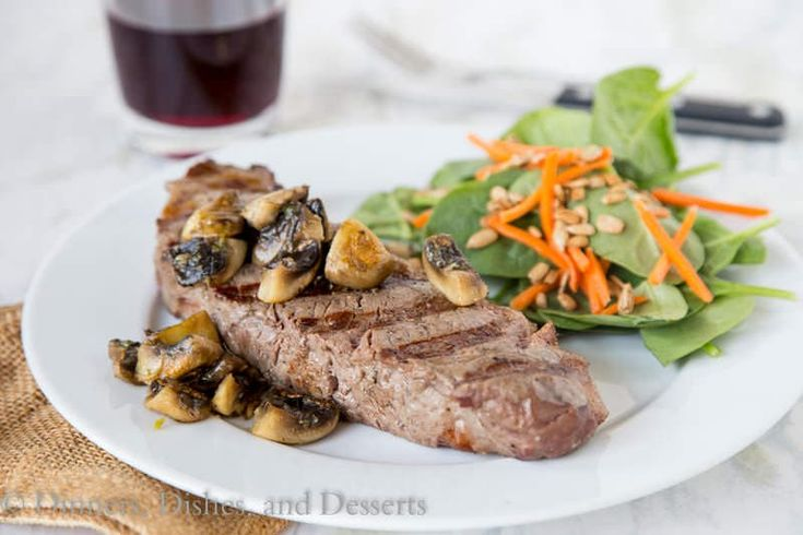 Perfect Grilled Ribeye {Dinners, Dishes, and Desserts}