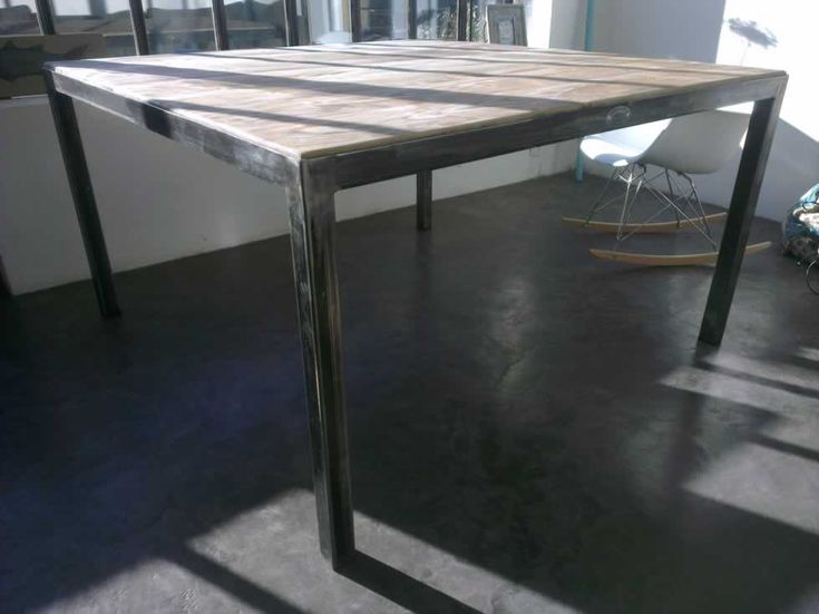 1000 ideas about table carr e on pinterest table carr e for Table exterieure carree 8 personnes