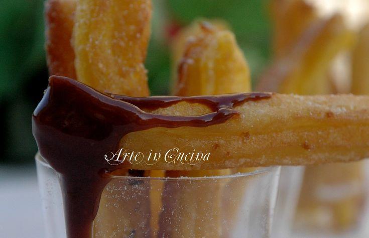 Churros spagnoli biscotti fritti ricetta facile