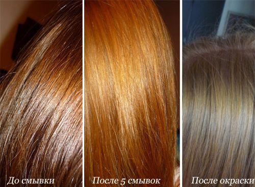 Как убрать черный цвет волос в домашних условиях: смывка для волос