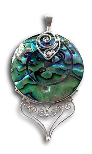 Jewelry with Soul Paua Abalone Shell 925 Sterling Silver Pendant Jewelry with Soul http://www.amazon.co.uk/dp/B00TOLXGGQ/ref=cm_sw_r_pi_dp_bnsAvb1JXT80P