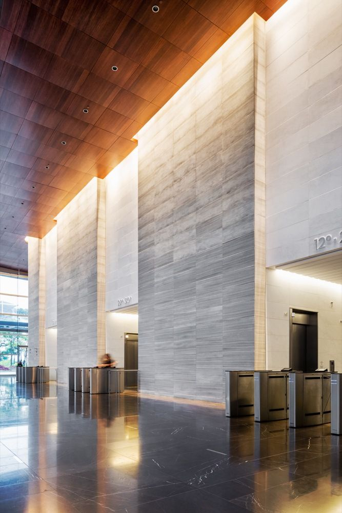 lobby office. gallery of so paulo corporate towers pelli clarke architects aflalogasperini arquitetos 8 office lobbyceiling lobby