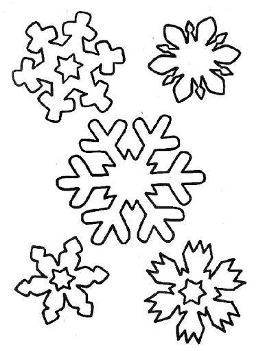 7 best Copos de nieve images on Pinterest | Copos de nieve ...