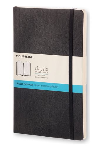 Moleskine Classic Softcover Notebook Dotted Grid Large Black product photo