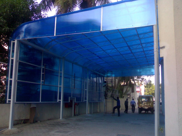 Polycarbonate Architecture Design Roofing Sheets Skylight