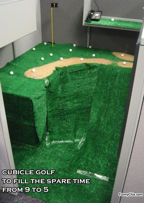 Beautiful Office Golf Decorations | Funny Pictures Of Alligator, Baseball, Stars, Golf  And Life